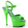 DELIGHT-609UVG Neon Green Glitter